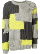 Christopher Raeburn Patchwork Jumper - Grey