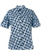 Kenzo Polka Dot Shirt - Blue