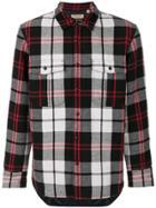 Burberry Check Shirt - Black
