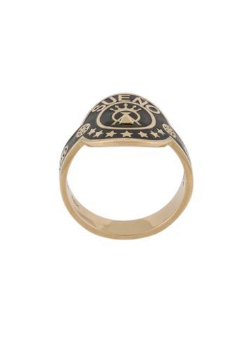 Foundrae Dream Cigar Ring, Women's, Size: 6, Metallic