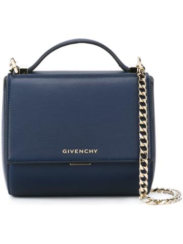 Givenchy Mini 'pandora Box' Crossbody Bag, Women's, Blue