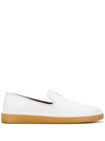 Giuseppe Zanotti Hoffman Flash Loafers - White