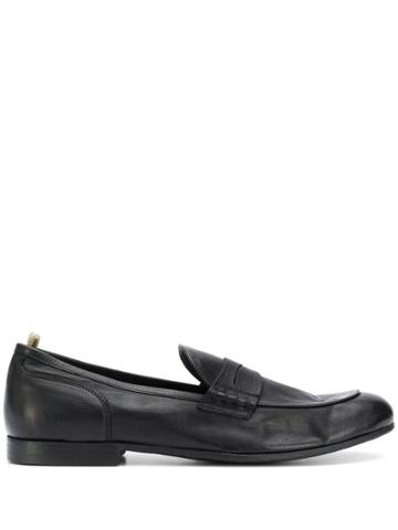 Officine Creative T-bar Strap Loafers - Black