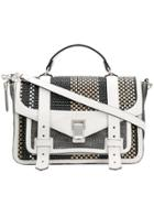 Proenza Schouler Ps1+ Satchel Bag - Black