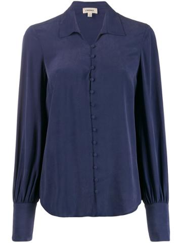 L'agence L'agence 4847cdc Navy Natural (other)->silk - Blue