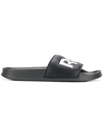 Reebok Split Logo Slides - Black