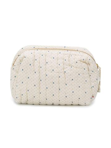 Bonpoint Cali Dotted Changing Bag - Neutrals