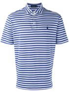 Polo Ralph Lauren Striped Polo Shirt - Blue