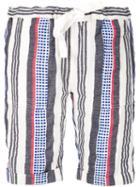 Lemlem 'meron' Shorts, Women's, Size: Xs, White, Cotton/acrylic