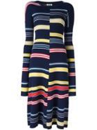 Kenzo Striped Knit Dress