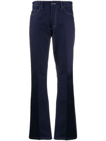 Marni High Waisted Straight Leg Jeans - Blue