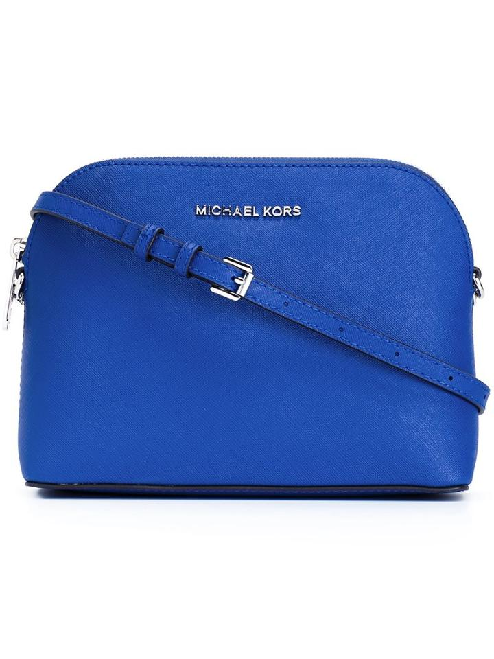 Michael Michael Kors Large 'cindy' Crossbody Bag, Women's, Blue