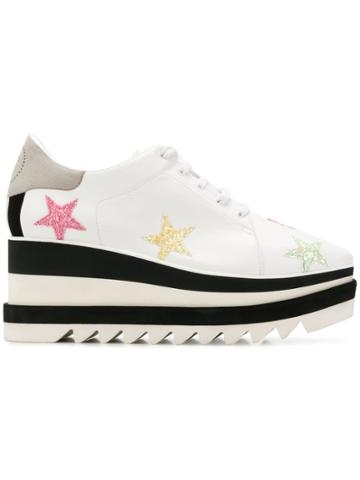 Stella Mccartney Sneak-elyse Pastel Star Sneakers -