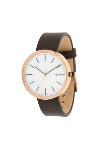 Uniform Wares M40 Date Watch - Brown
