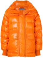 Adidas By Stella Mccartney Training Parka Coat - Yellow & Orange