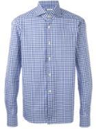 Kiton Gingham Check Shirt