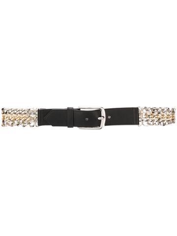 Pinko Complicated Chain Belt - Black