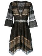 Nk Lace Dress - Black