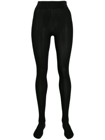 Wolford Velvet De Luxe 66 Tights - Black