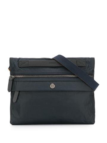 Mismo Flat Messenger Bag - Blue