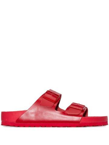 Valentino X Birkenstock Double Strap Sandals - Red