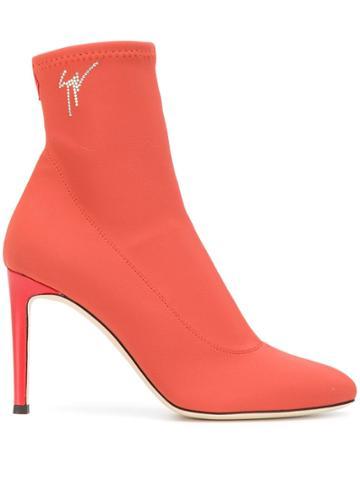 Giuseppe Zanotti Carlee Boots - Orange