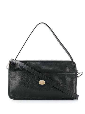 Gucci Interlocking G Messenger Bag - Black