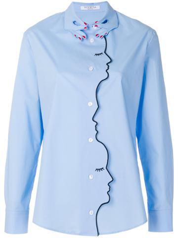 Vivetta Faces Shirt - Blue