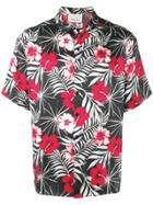 Laneus Floral-print Shirt - Red