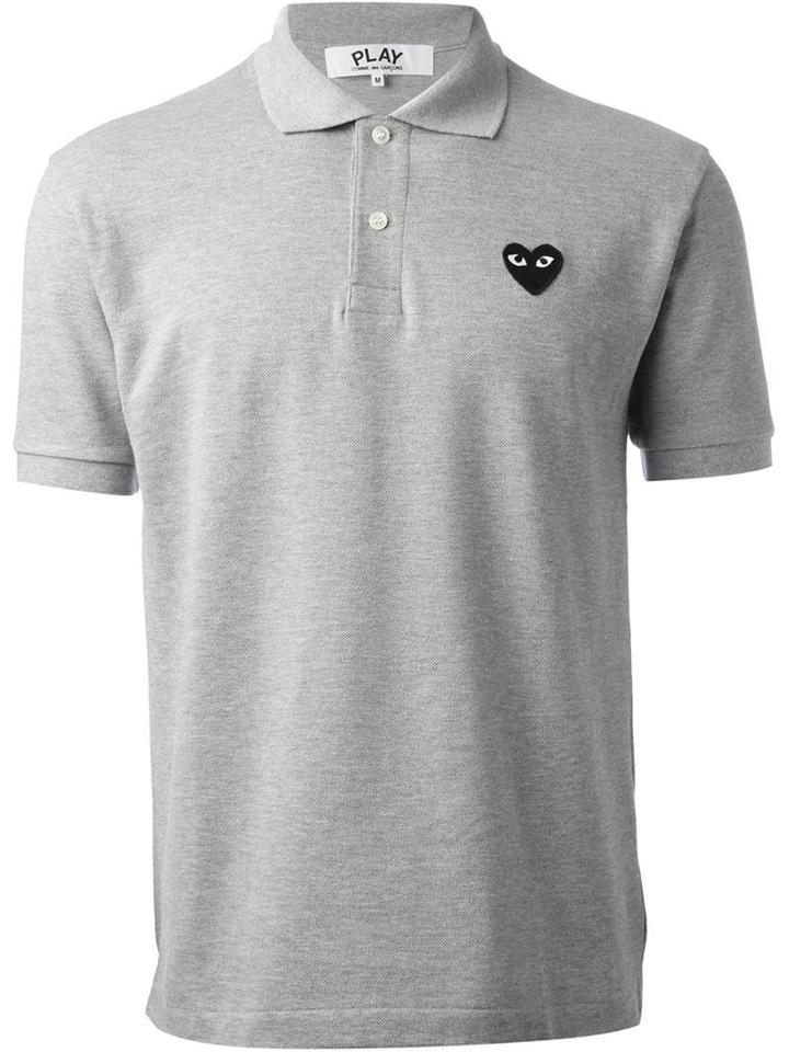 Comme Des Garcons Play 'play' Polo Shirt