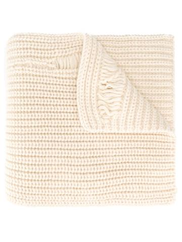 J.w.anderson Chunky Laddered Scarf