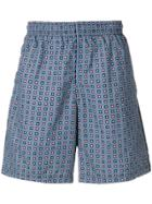 Alexander Mcqueen Two-tone Swimming Shorts - Blue