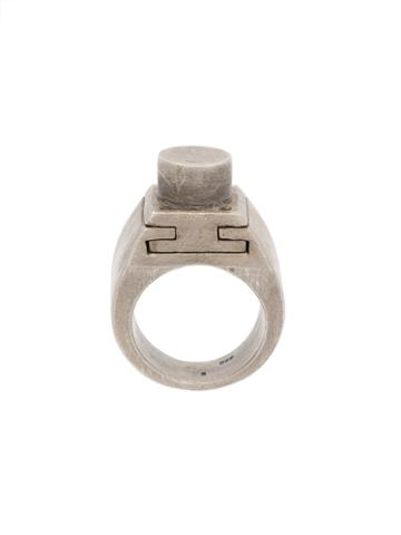Parts Of Four Sistema V3 Ring, Adult Unisex, Size: 9, Metallic