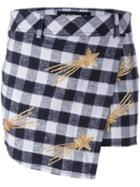 Filles A Papa 'lucky' Checked Skirt