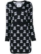 Moschino Teddy Bear Fitted Dress - Black