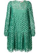 No21 Cutout Shift Dress - Green
