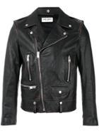 Saint Laurent Biker Jacket - Brown