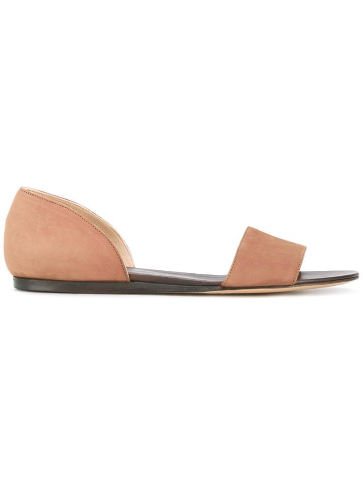 Michel Vivien Two-part Sandals - Brown
