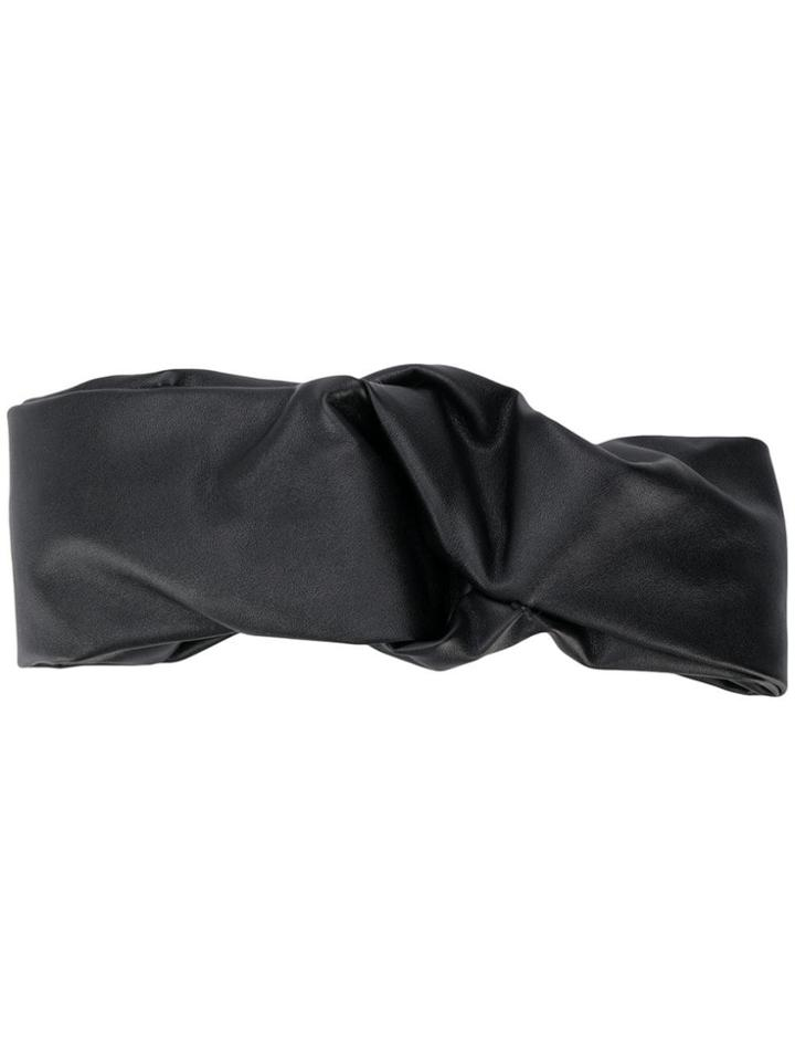 Ca & Lou Knot Detail Headband - Black
