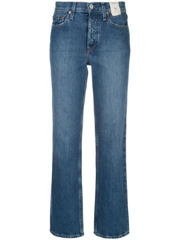 Trave Denim Blake Straight Jeans - Blue