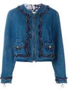 Moschino Vintage Zipped Denim Jacket