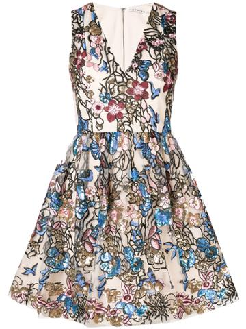 Alice+olivia Becca Dress - Nude & Neutrals
