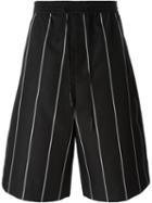 Juun.j Striped Drawstring Shorts