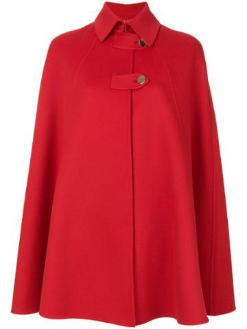 Versace Collared Cape Coat