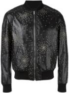 Saint Laurent Oversized Teddy Studded Jacket