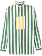 Sunnei Pocket Pannel Shirt - Green