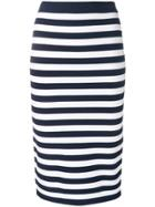 Michael Michael Kors Striped Pencil Skirt - Unavailable