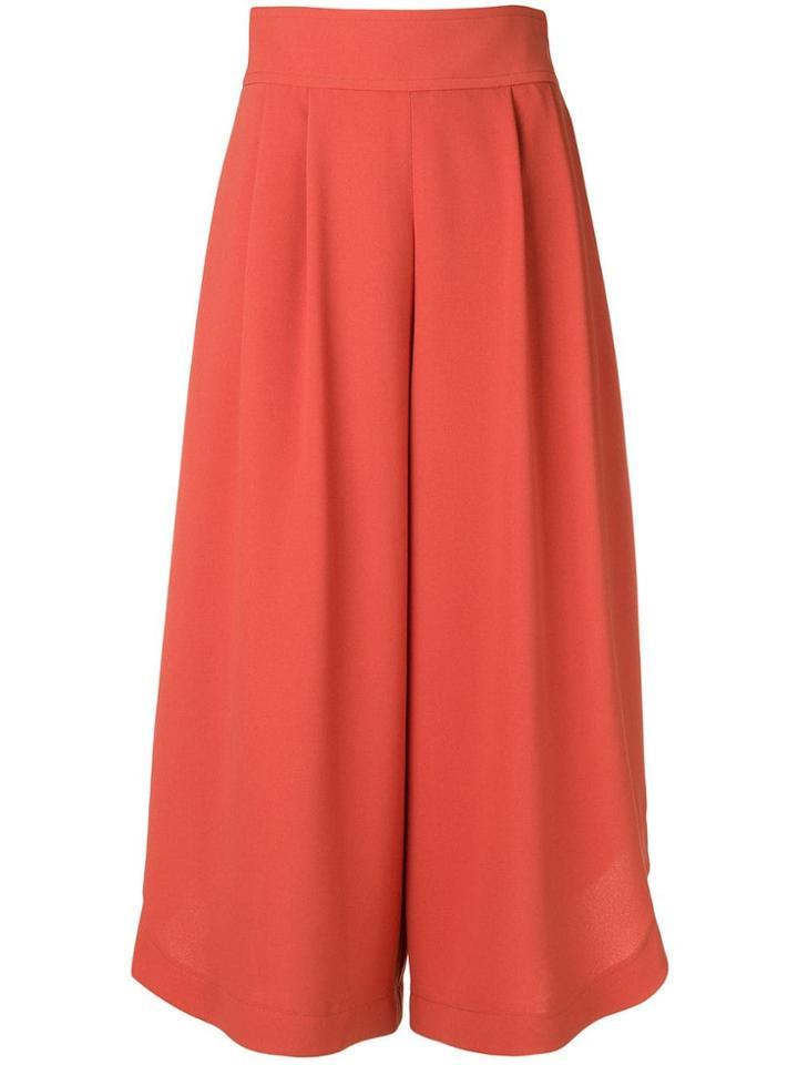 See By Chloé Wide-leg Culottes - Orange