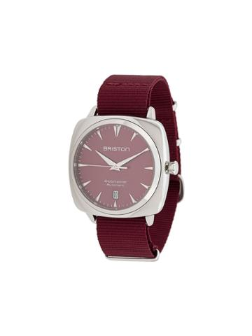 Briston Watches Clubmaster Iconic Watch - Red