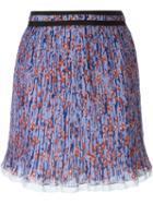 Carven Pleated Mini Skirt